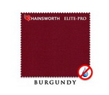 Бильярдное сукно *Hainsworth Elite Pro burgundy