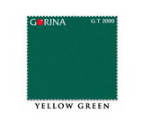 Бильярдное сукно Gorina yellow green