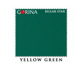 Бильярдное сукно Gorina Billar star yellow green